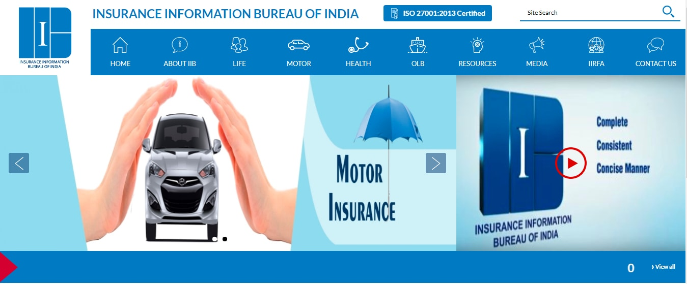 Check Car Insurance Policy Status Online Via Vahan Iib